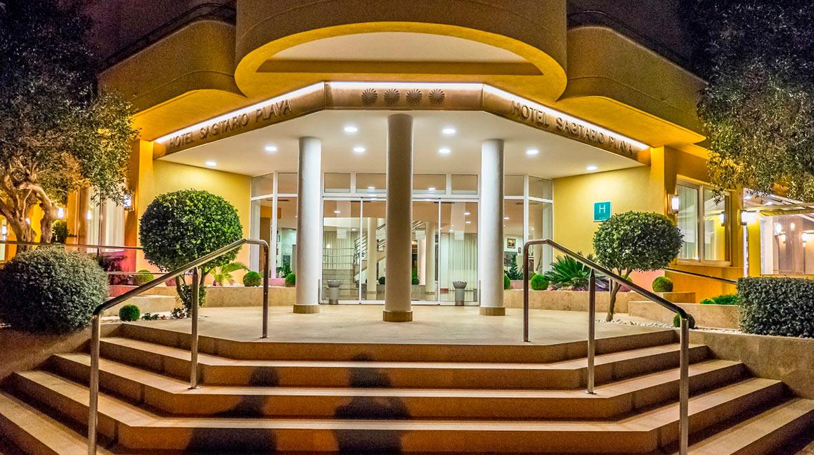 Hotel Spa Sagitario, Sede del Open